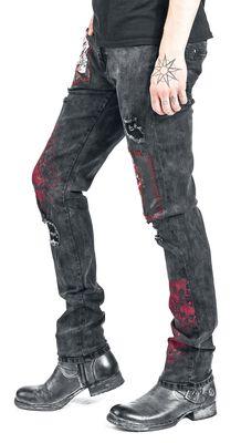 Jared - Jean Noir Avec Détails