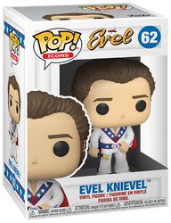 Evel Knievel Evel Knievel (Édition Chase Possible) - Funko Pop! n°62