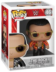 Figurine En Vinyle The Rock Old School 46 (Chase Possible)