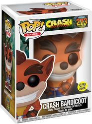Figurine En Vinyle Crash Bandicoot (GITD) 273