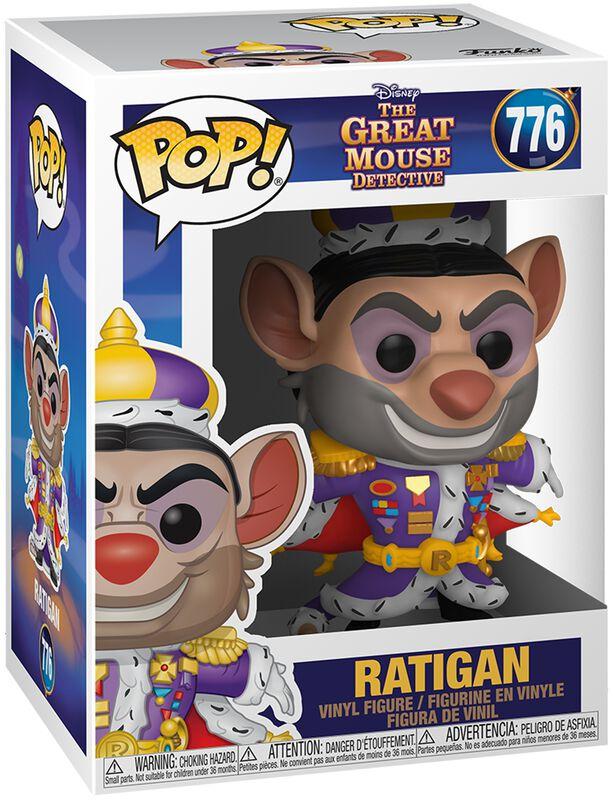 Basil, Détective Privé Ratigan - Funko Pop! n°776