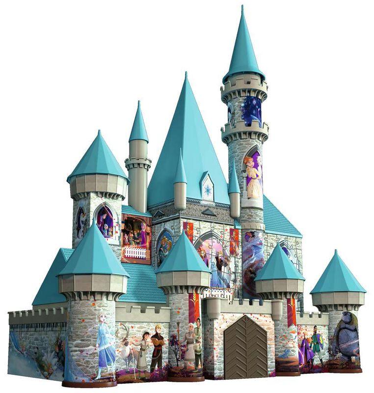 La Reine Des Neiges 2 - Château - Puzzle 3D