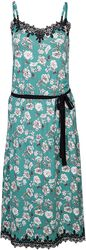 Robe Green Floral