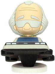 Doc Brown Dans Sa DeLorean (Figurine Pokis)
