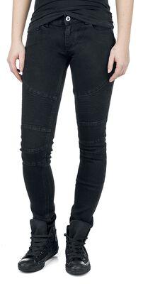 Pantalon Style Motard
