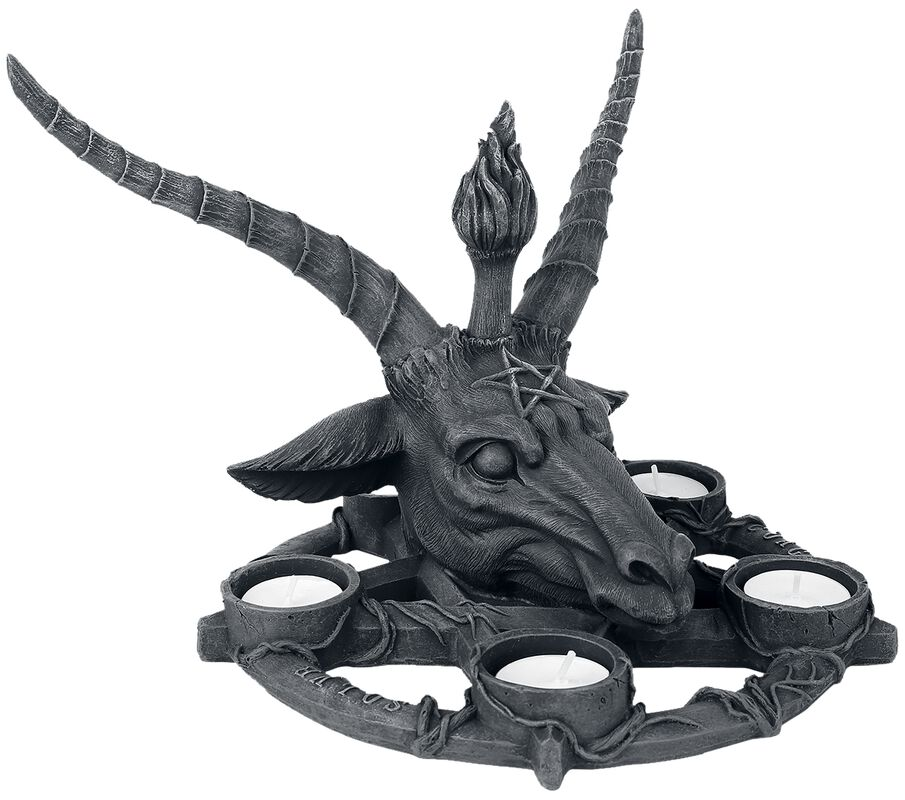 Bougeoir Baphomet