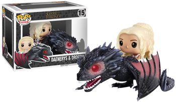 Daenerys Targaryen & Drogon - Funko Pop! n°15