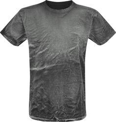 T-shirt Spray Washed Black
