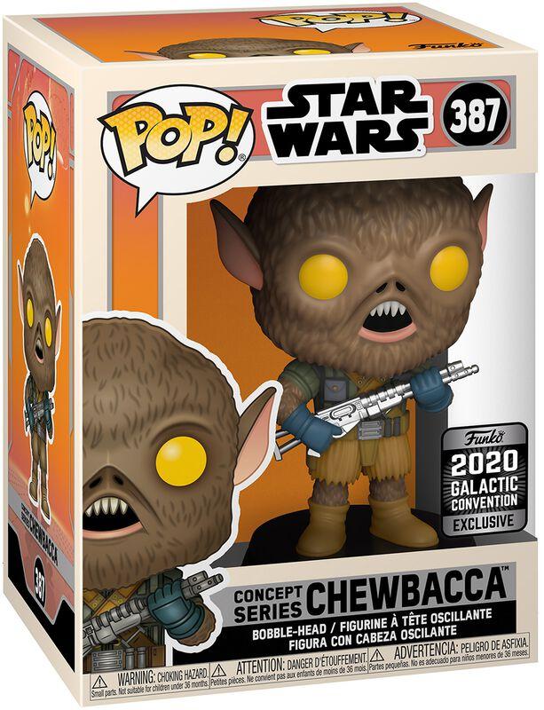 Celebration - 2020 Galactic Convention - Chewbacca (Funko Shop Europe) - Funko Pop! n°387