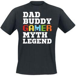Dad Buddy Gamer Myth Legend