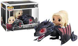 Figurine En Vinyle Daenerys Targaryen & Drogon 15