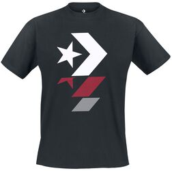 T-Shirt Repeated Star Chevron