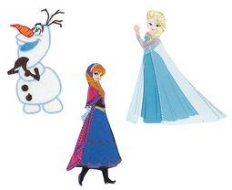 Frozen Lot De Patchs