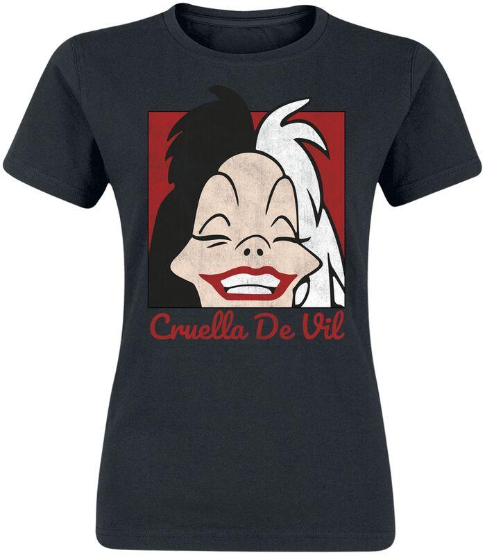 Cruella De Vil Cropped Head