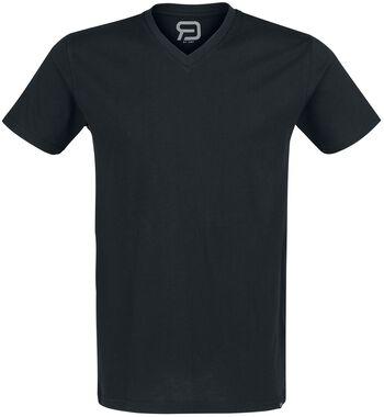 Lot De Deux T-Shirts Col En V