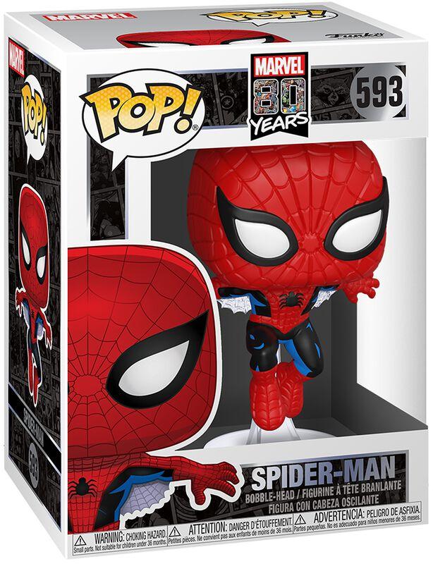 80th - Spider-Man - Funko Pop! n°593