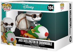 Jack Skellington Dans Snowmobile (Pop! Rides) - Funko Pop! n°104
