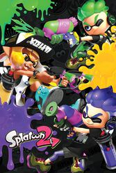 Splatoon 2 - 3 Way Battle A