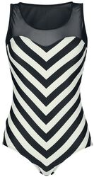 Maillot Big Party Stripes
