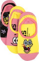 Vans x Spongebob Canoodles Best Buddies 4 Life, 3-Pack