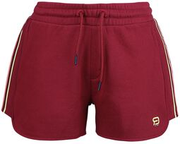 RED X CHIEMSEE -  Short Rouge Avec Logo
