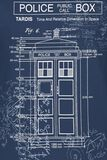 Blueprint Tardis