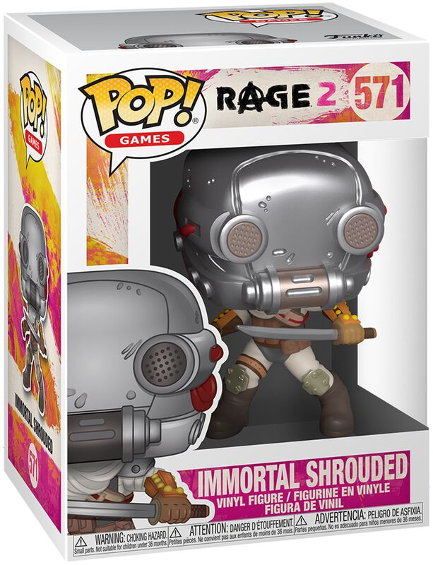Rage 2 Immortal Shrouded - Funko Pop! n°571