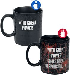 With Great Power - Mug thermoréactif