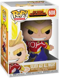 Silver Age All Might Vinyl Figure 608