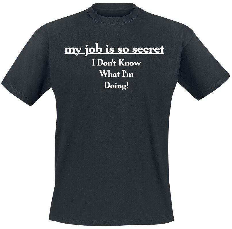 My Job Is So Secret