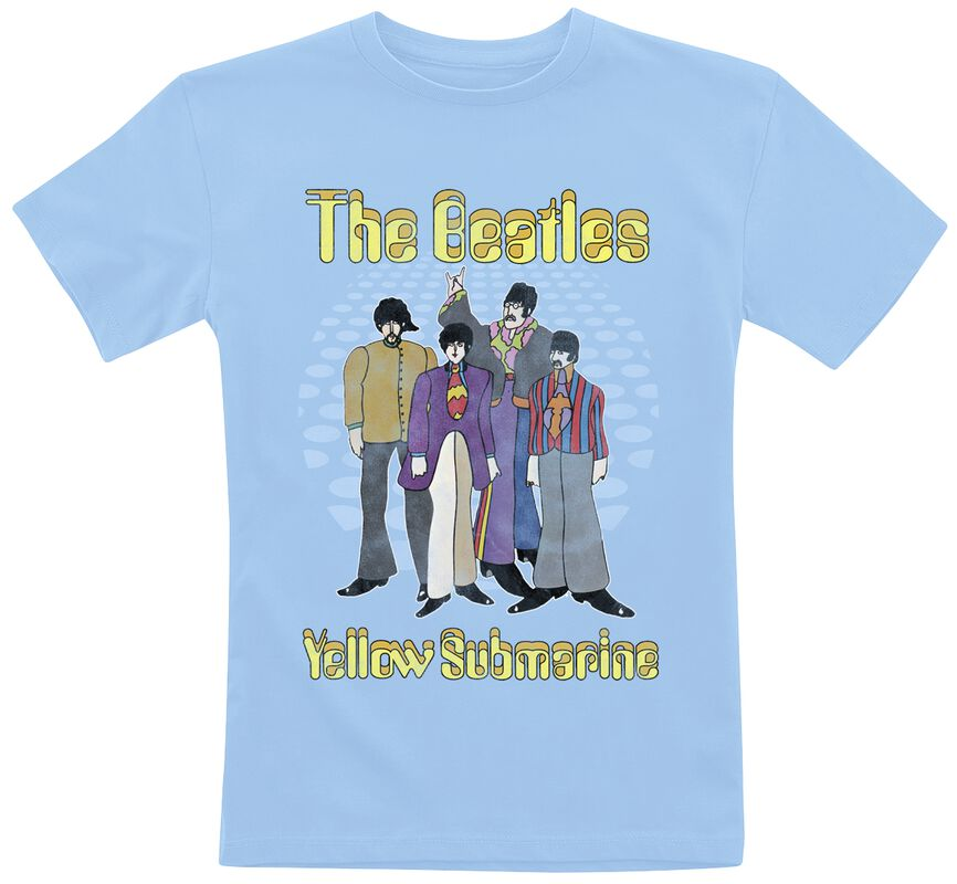 Kids Collection - Yellow Submarine Groovy Dots