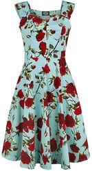Robe d'été 50s Dtsy Rose Floral