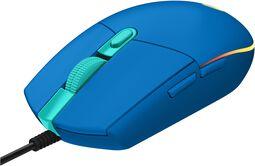 Souris Gaming G203 Bleue Lightsync