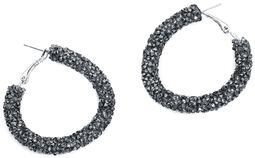 Black Ruins Earrings