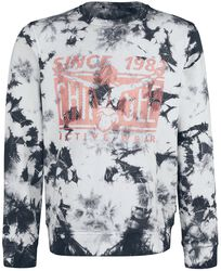 RED X CHIEMSEE - Sweat Batik Noir/Blanc