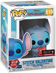 Stitch St-Valentin - Funko Pop! n°510
