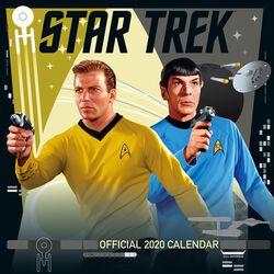 Star Trek - Calendrier Mural 2020