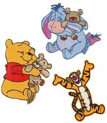 Winnie The Pooh Lot De Patchs