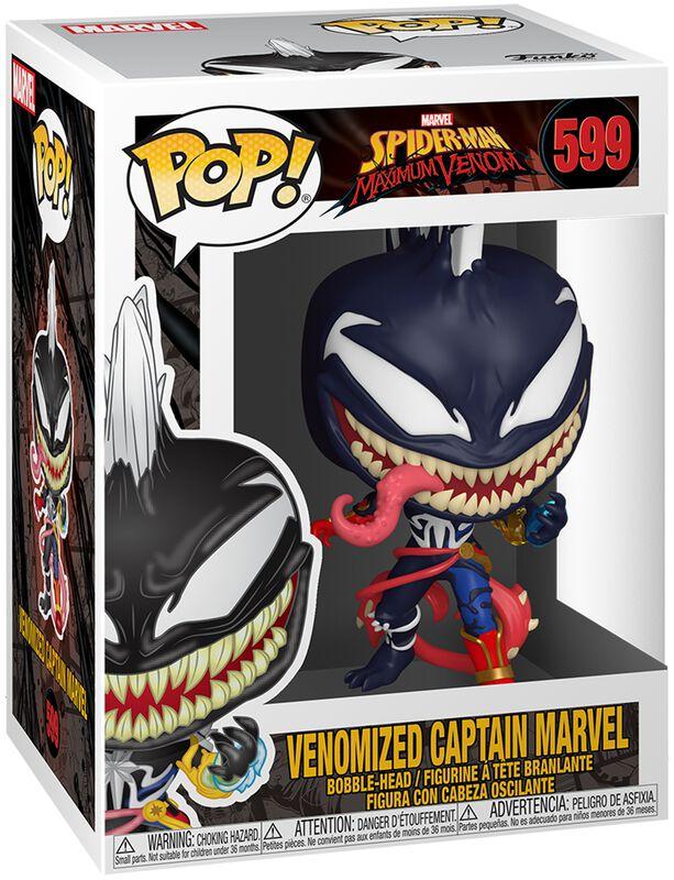 Maximum Venom - Venomized Captain Marvel - Funko Pop! n°599
