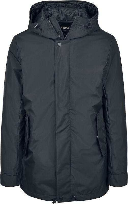 Long Manteau à Capuche