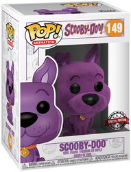 Scooby-Doo (Flocked Violet) - Funko Pop! n°149