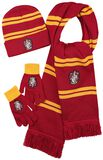 Gryffondor - Bonnet, gants, écharpe
