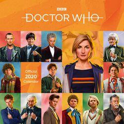 Dr Who - Calendrier Mural 2020 - Édition Classique
