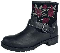 Boots Black Rose
