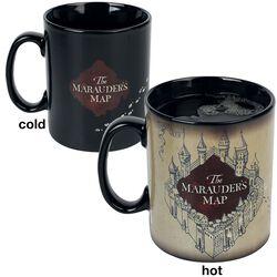La Carte du Maraudeur - Mug Thermoréactif