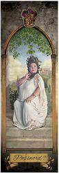 La Grosse Dame - Poster Porte