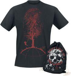 Don't Fuck Up The World - T-Shirt Noir Imprimé