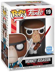 Spastik Plastik - Monkey Assassin (Funko Shop Europe) - Funko Pop! n°19