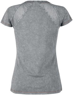 T-Shirt Avec Empiècements En Mesh