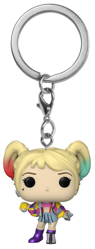 Harley Quinn (Scotch Caution) - Pop! Keychain